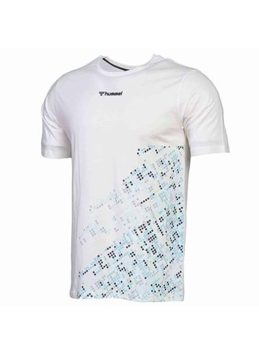 Hummel Erkek Tişört Welo 911376-9003 Beyaz